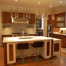 Contemporary Kitchen by Lobkovich Kitchen Designs, Inc.