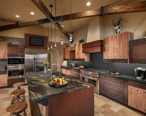 Black Granite Kitchen Countertops black granite countertops | houzz