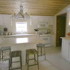 Eclectic Kitchen WhisperWood Cottage Kitchen