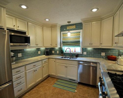 Ideas para cocinas | Fotos de cocinas con suelo de baldosas de ...