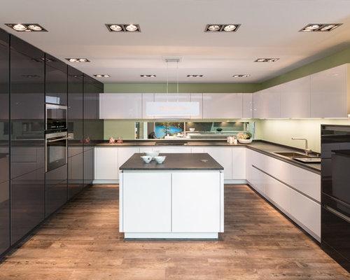 Küchen mit Laminat-Arbeitsplatte in München Ideen, Design & Bilder ...