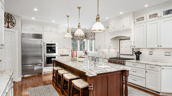 White and Cherry Kitchen