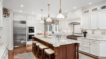 White and Cherry Kitchen