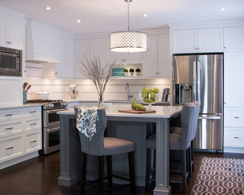 kitchen with island images caesarstone alpine mist houzz 20204