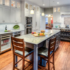 Traditional Kitchen by Gloria Carlson
