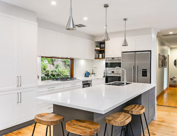 White and Grey Renovation