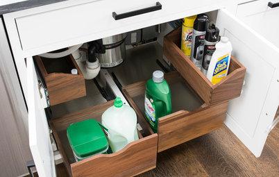 6 Ingenious Storage Solutions for Kitchen Under-Sink Areas