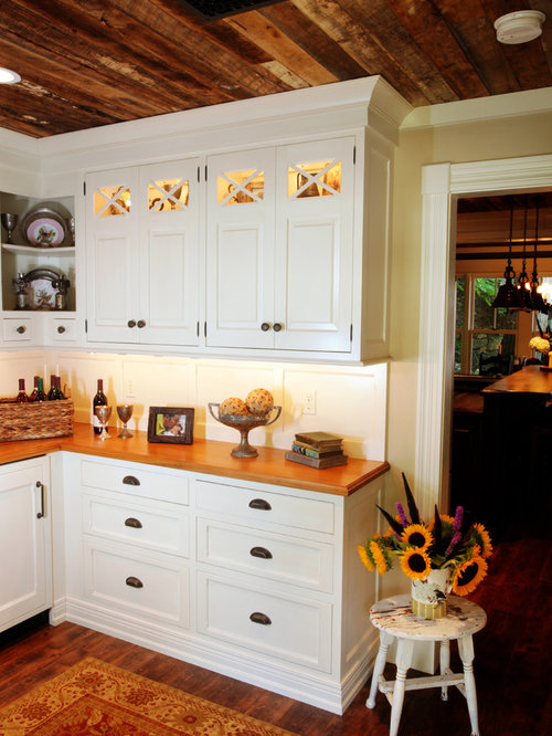 Cost To Remodel A Kitchen: Rustic Cottage Kitchen Renovation St. Louis, MO