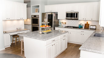 White Angel Feather - Kitchen Remodel