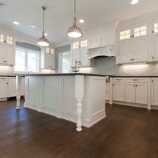 Transitional Kitchen by Luxcraft Cabinets