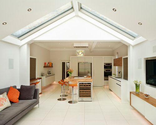 Flat Roof Kitchens : Roof light houzz