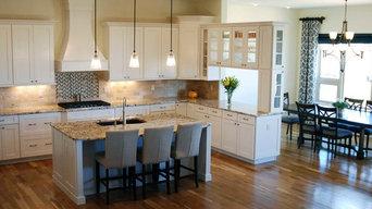 White Bridgewood Cabinets-New Consturction
