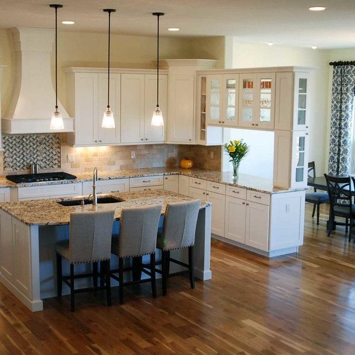 Franktown, CO New Construction Kitchen, Bath & Basement Bar Design