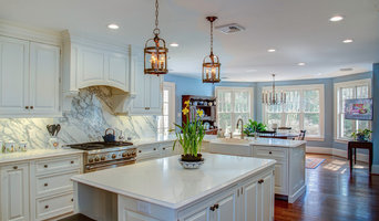 White, Bright, and High End  Kitchen Remodel with addition for breakfast nook