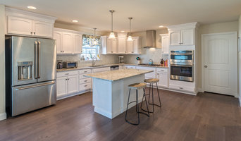 White Cabinet Kitchen With Granite Countertops