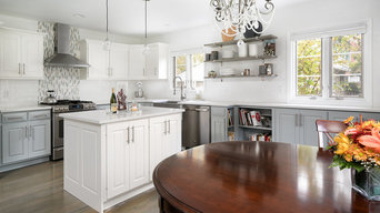 White Cape Cod Cottage Kitchen Remodel _ Upper Arlington OH