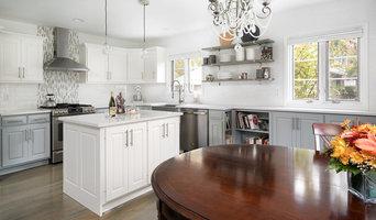 White Cape Cod Cottage Kitchen Remodel _ Upper Arlington OH