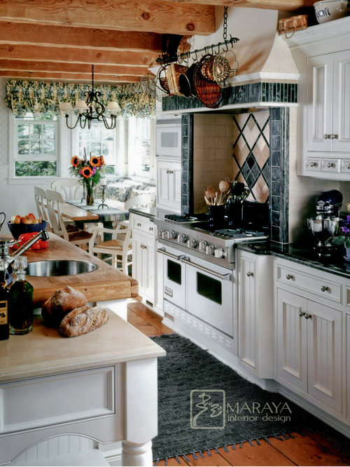 English cottage traditional cape cod craftsman old for Traditional english kitchen design