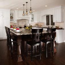 Traditional Kitchen by Advance Design Studio, Ltd.