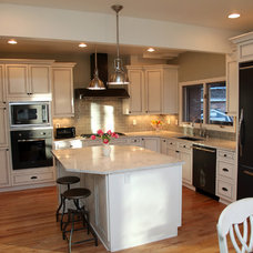 Traditional Kitchen by Kaimee Klein Martelli