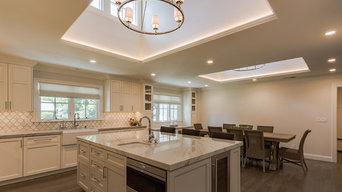 White Contemporary Home