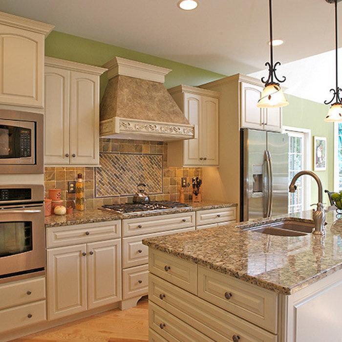 White Contemporary Kitchen