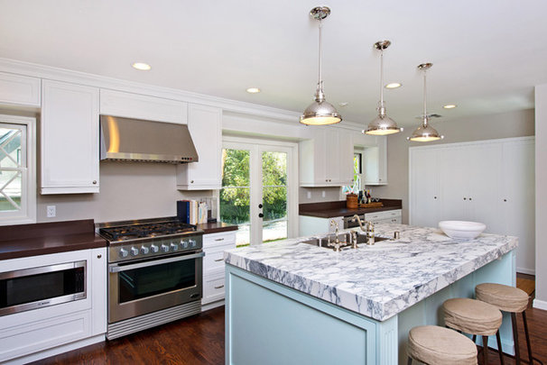 Eclectic Kitchen by Serrao Cabinets & Design