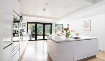 White Family Kitchen With Quartz Worktop