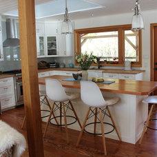 Farmhouse Kitchen by Oak Hills Woodcraft