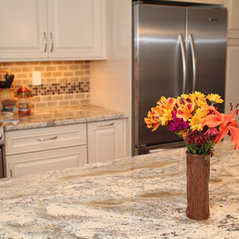 white french country kitchen remodel annapolis md - Kitchen Remodeling Annapolis Md
