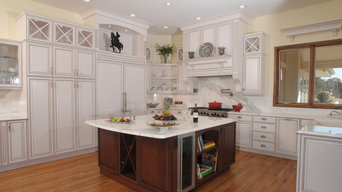 White Glazed Beautiful Kitchen
