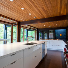 Contemporary Kitchen by Elmwood Fine Custom Cabinetry