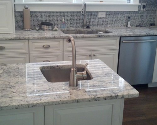 White Ice Granite Design Ideas & Remodel Pictures | Houzz