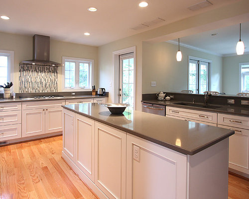 grey kitchen cabinets with white countertops grey expo silestone houzz 16102