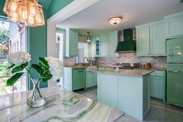 Eclectic Kitchen by Aria Stone Gallery