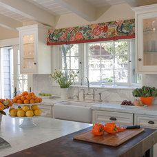 Traditional Kitchen by Ann Lowengart Interiors