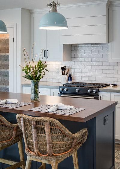 Coastal Kitchen by Marrokal Design & Remodeling