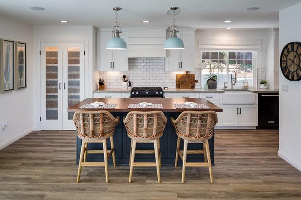 Farmhouse Kitchen by Marrokal Design & Remodeling