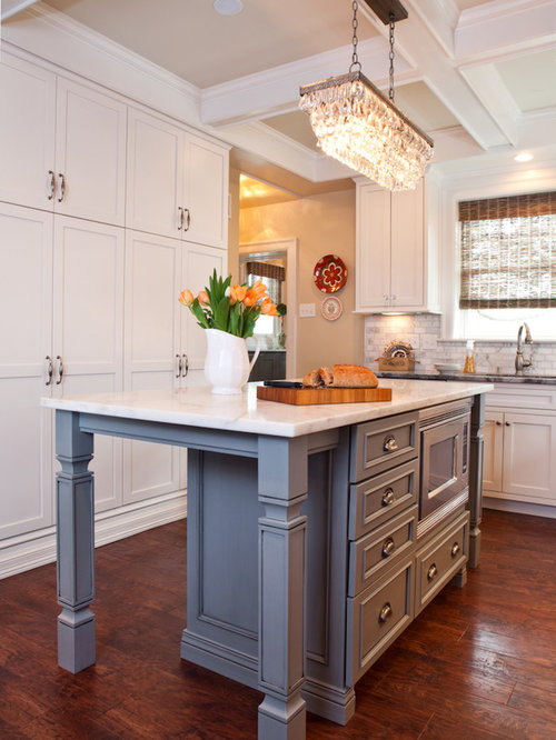 White And Gray Kitchen Remodel St Louis MO