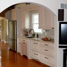 Craftsman Kitchen by JR Muehling Construction