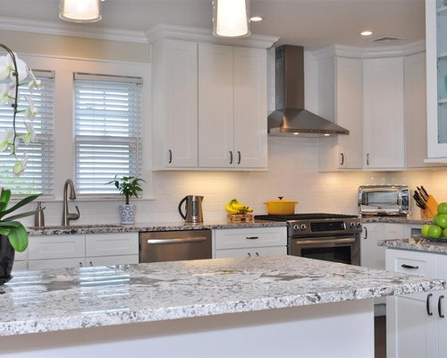White Shaker Cabinets Ideas, Pictures, Remodel and Decor