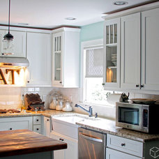 Contemporary Kitchen by CliqStudios Cabinets