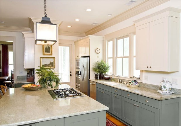 American Traditional Kitchen by CliqStudios