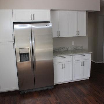 White Kitchen Cabinets - Shaker Style