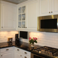 Traditional Kitchen by Casey Grace Design, LLC