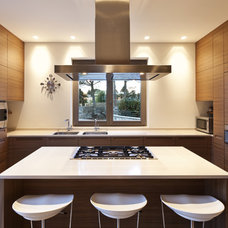 Contemporary Kitchen by All Marble Tiles