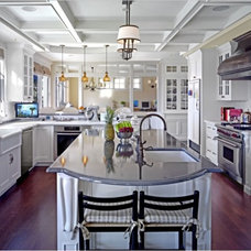 Traditional Kitchen White Kitchen