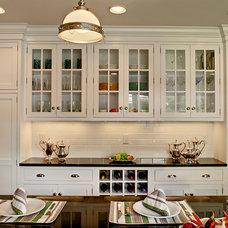 Transitional Kitchen by Modern Millwork Kitchen & Bath Studio