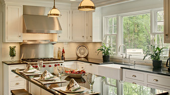White Kitchen in Basking Ridge