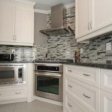 Contemporary Kitchen by Monarch Kitchen and Bath Centre